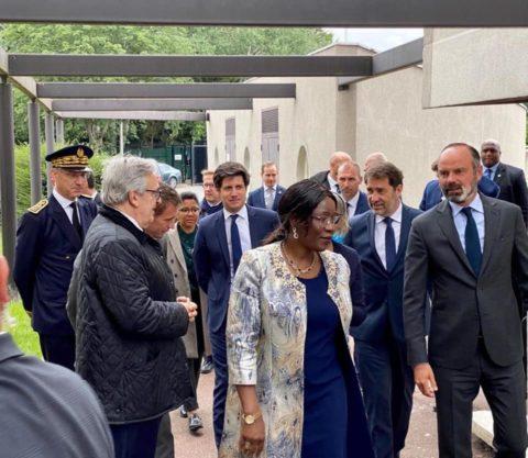 visite du 1er Ministre à l'association