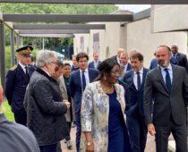Visite du 1er Ministre Edouard Philippe le 9 juin 2020