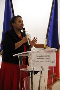 Mme GEOFFROY Ministre de la ville