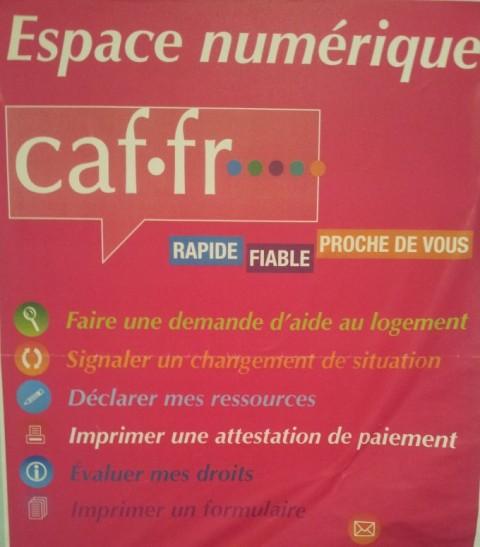 Génération 2 labellisée espace CAF