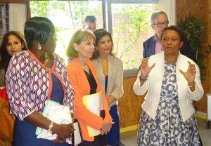 Visite de la ministre Hélène GEOFFROY