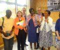 visite de madame Hélène GEOFFROY Secrétaire d'Etat auprès du ministre de la ville, de la jeunesse et des sports