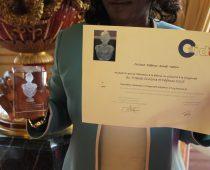 Remise du trophée CIVAM au sénat le 22 juin 2017