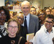 Visite du préfet de l'Essonne le mercredi 9 janvier 2019 à l'association
