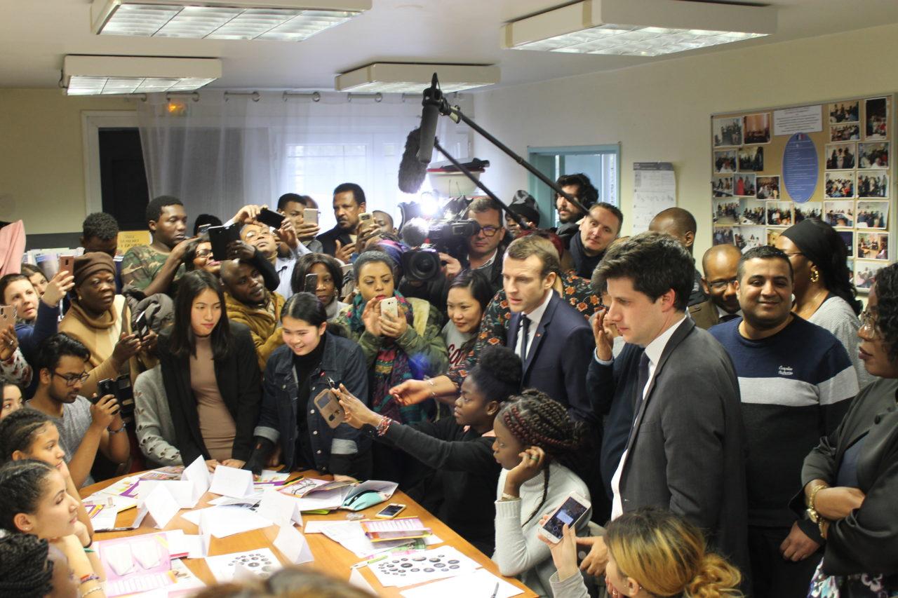 Visite du Président Macron