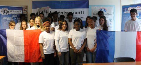 Vernissage de l'exposition : «les jeunes croisent leurs regards sur les valeurs de la République pour le Mieux Vivre-ensemble»