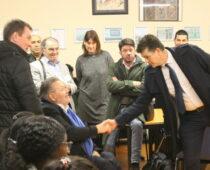 Visite de M. Toulmet Délégué interministériel aux développement de l'apprentissage dans les QPV le 6 février 2020