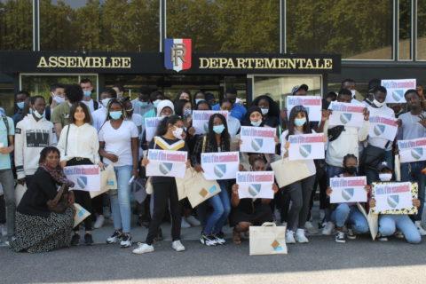 Visite de l'assemblée départementale de l'Essonne